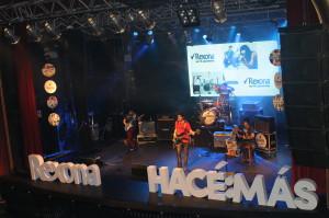 LEYHANA - Misiones -  la banda encargada del show de cierre del evento HACÉ MÚSICA de Rexona en el teatro Vorterix