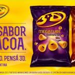 3D - MEGATUBE Barbacoa y Queso - Vía Pública