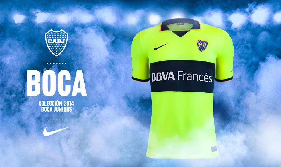Boca Juniors estrena color verde limón con nueva camiseta hecha con ... 77632e907694d