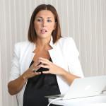Gabriela Korovsky durante la presentación 2
