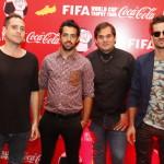 Tan Biónica, interprete del himno de Coca-Cola para el Mundial
