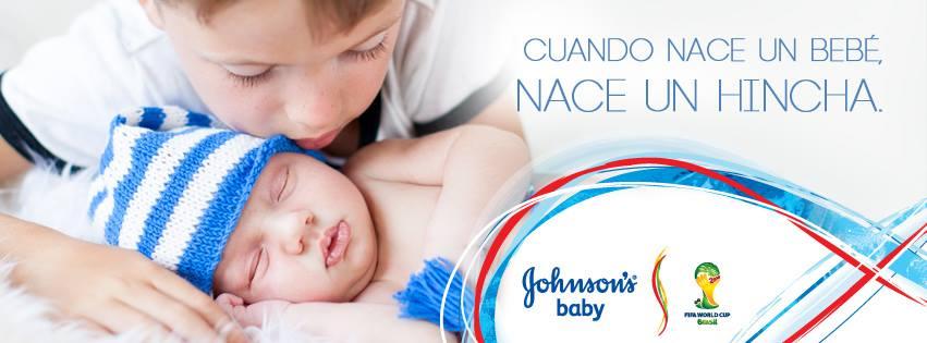 361 argentina y johnson s baby presentan hinchada sitemarca for Johnson johnson argentina