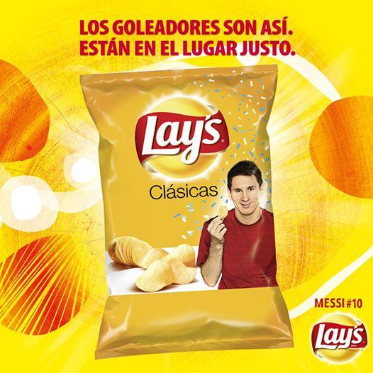 buy online 6d3a0 f562b ... del portafolio de PepsiCo Alimentos, presenta su primera campaña global  de comunicación. El protagonista es el ídolo del fútbol  Lionel Messi, ...