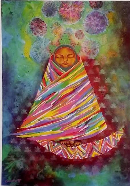 niña de las yungas de Carmen Cecilia Espinoza