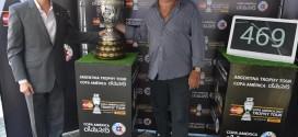 Basile y MasterCard presentan el Trophy Tour en Argentina