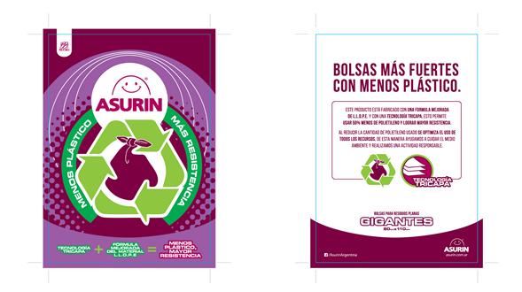 f1f31ac29 Asurin presenta un nuevo modelo de bolsa de residuos | sitemarca