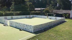 Inauguración estadio móvilSony y streetfootball