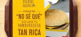 McDonald's presenta Puertas Abiertas este viernes 18 de septiembre para recorrer las cocinas de sus locales