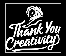 Cannes 2016 Thank You Creativity Logo