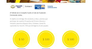 Mercado Libre Solidario - Vuelta al cole 2016